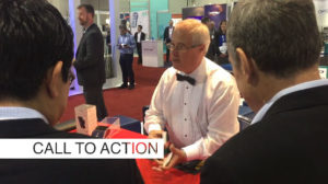 CALL TO ACTION in your trade show booth