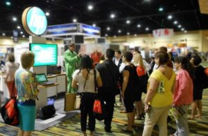 Engage attendees at Trade Shows