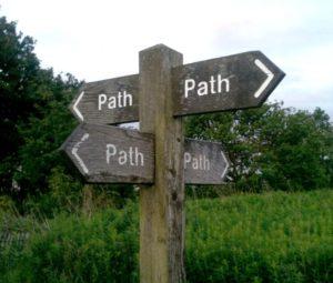Funny path?